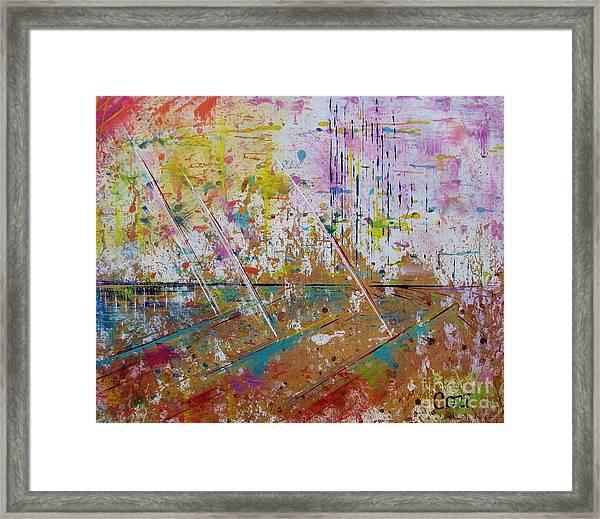 Horizons Calling Framed Print