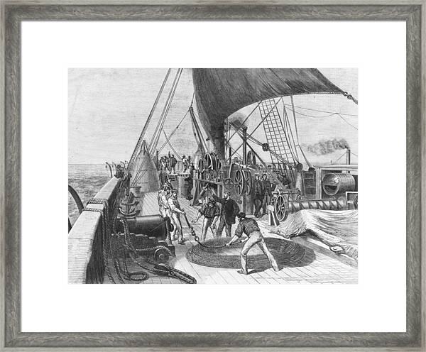 Great Eastern Framed Print