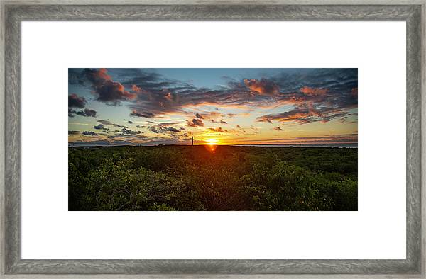 Great Exuma Sunrise Framed Print