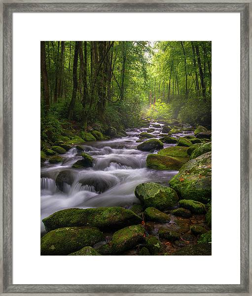 Great Smoky Mountains Gatlinburg Tennessee Framed Print