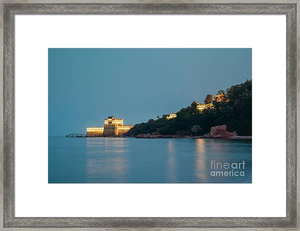 Great Wall At Night Framed Print