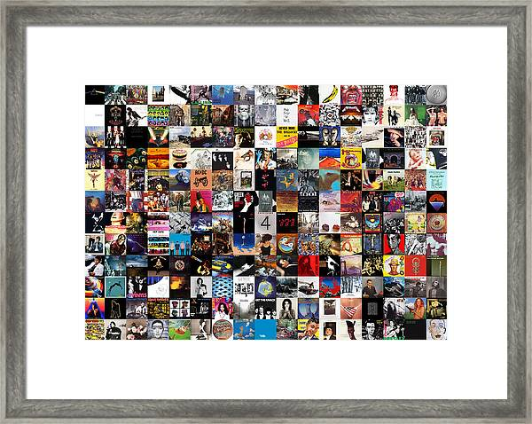Greatest Album Covers Of All Time Framed Print