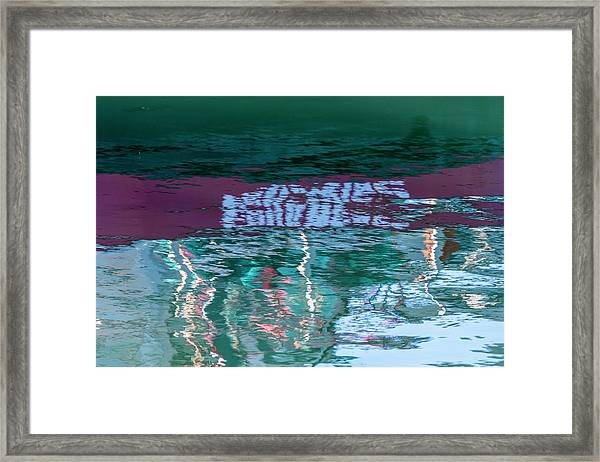 Greener Pastures Framed Print