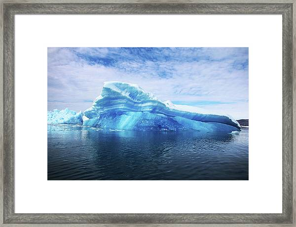 Greenland  A Laboratory For The Framed Print by Joe Raedle