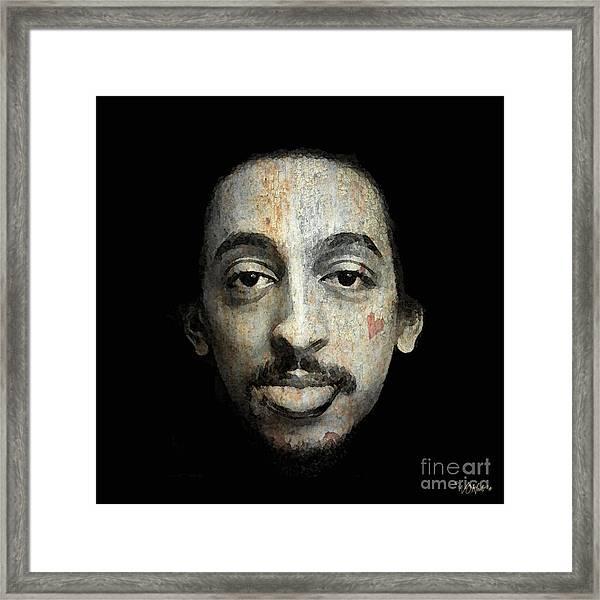 Gregory Hines Framed Print