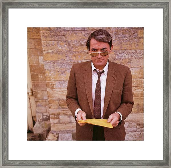 Gregory Peck Framed Print