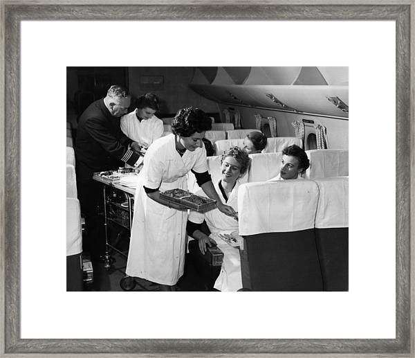 Grounded Air Crew Framed Print