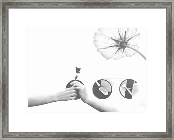 Growing Together Framed Print