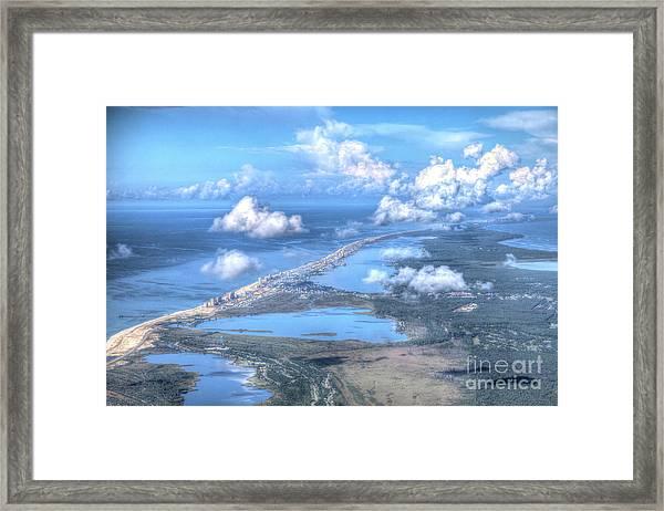 Gulf Shores-5094-tm Framed Print