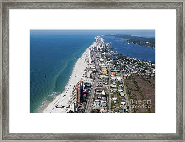 Gulf Shores 7124n Framed Print