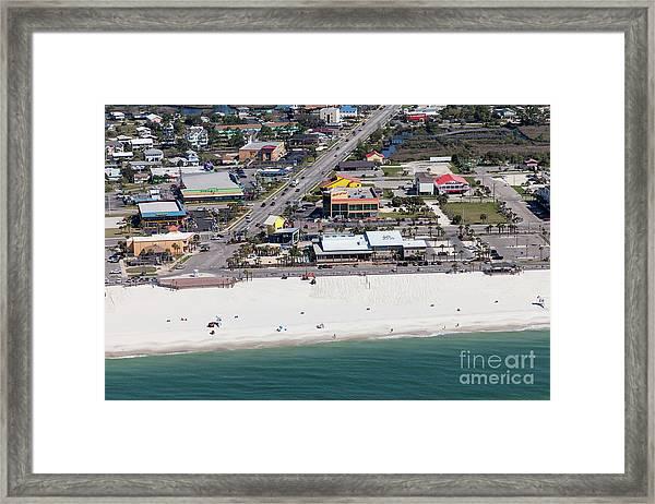 Gulf Shores Beach 7139 Framed Print
