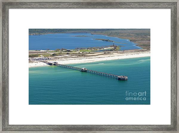 Gulf State Park Pier 7464n Framed Print