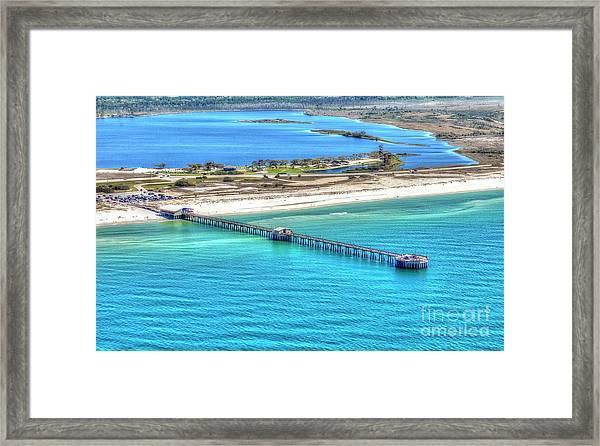 Gulf State Park Pier 7464p3 Framed Print