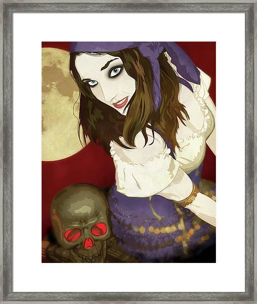 Gypsy Framed Print