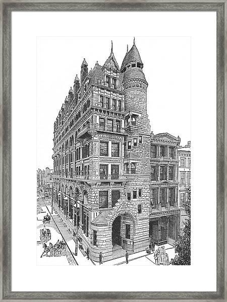 Hale Building Framed Print