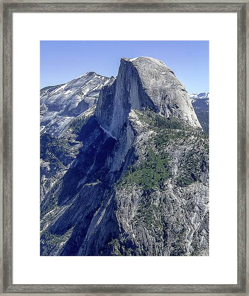 Half Dome From Glacier Point Framed Print