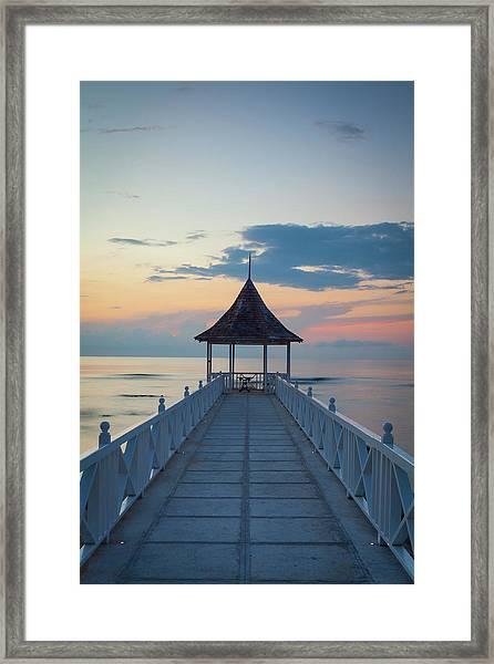Half Moon Bay, Montego Bay, Jamaica Framed Print