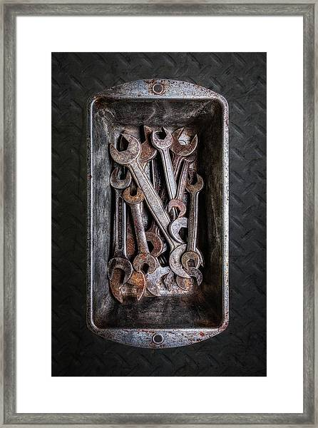 Hand Tools - Wrenches Framed Print