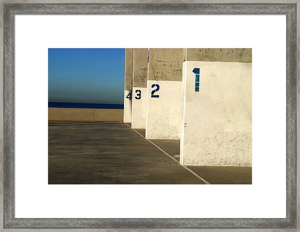Handball Courts Framed Print