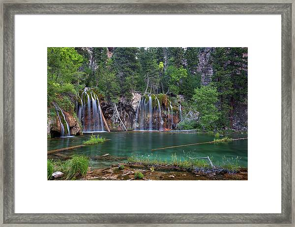 Hanging Lake Colorado Framed Print