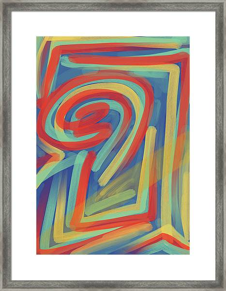 Happy Cyclops Framed Print