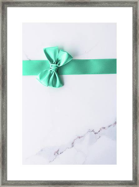 Hello Holiday Iv Framed Print