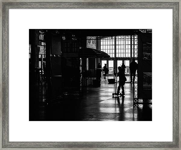 Framed Print featuring the photograph Happy Kid by Steve Stanger