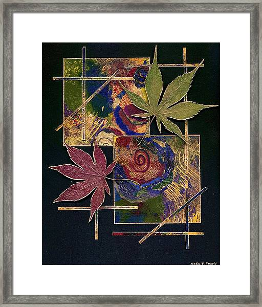 Happy Marriage Framed Print