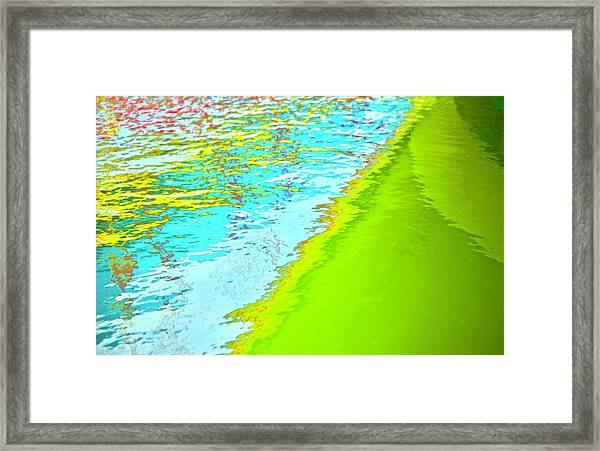 Harbor Framed Print by Gillis Cone