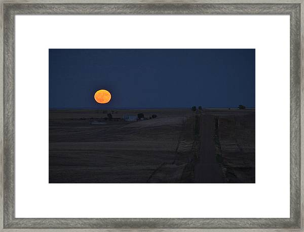Harvest Moon 2 Framed Print