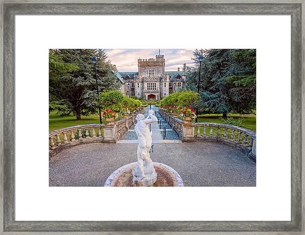 Hatley Castle Framed Print