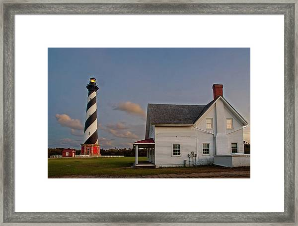 Hatteras Lighthouse No. 3 Framed Print