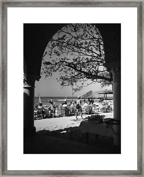 Havana Beach Framed Print