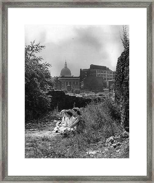 Haven In The City Framed Print