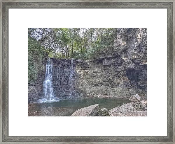 Hayden Falls Framed Print