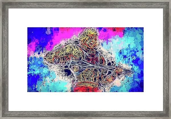 He - Man Framed Print