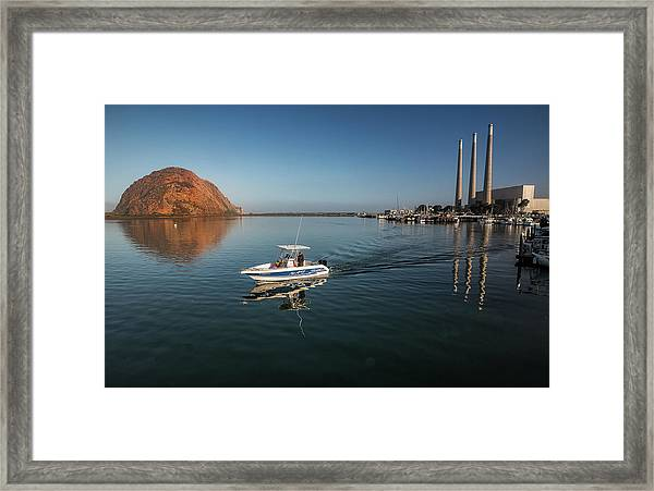 Heading Out Early Framed Print