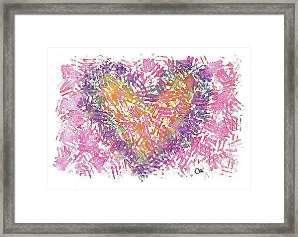 Heart 1006 Framed Print