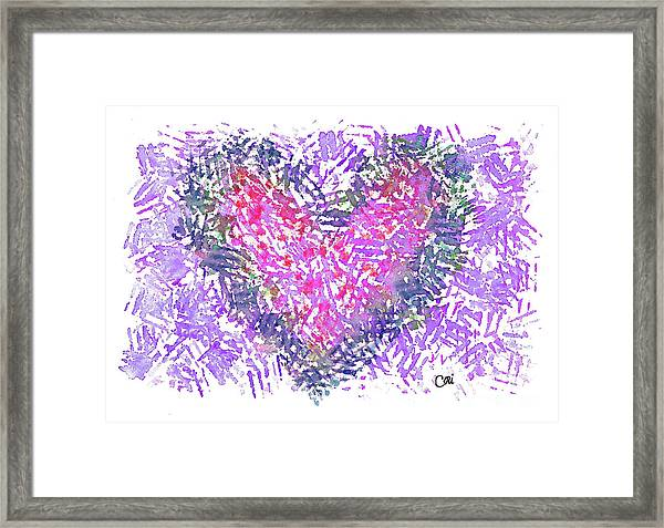 Heart 1007 Framed Print