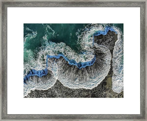 Heart Flash Framed Print