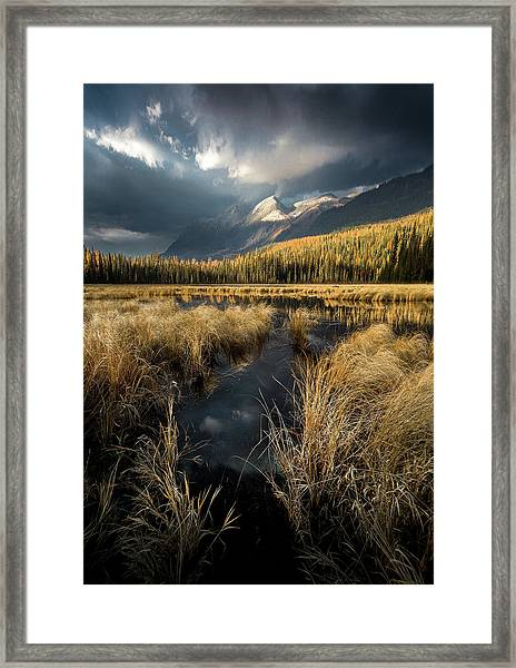 Heaven's Breath / Whitefish, Montana  Framed Print