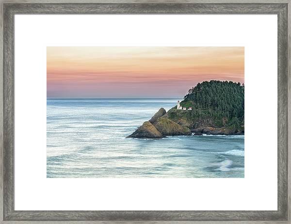 Heceta Lighthouse Framed Print