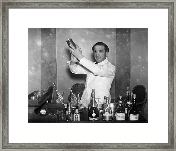 Hectors Bar Framed Print by Sasha