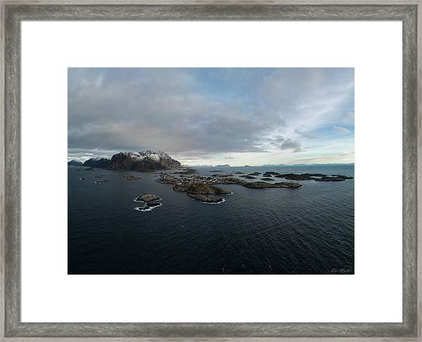 Henningsvaer Lofoten Framed Print