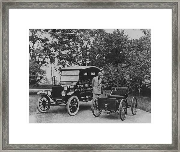 Henry Ford Senior Framed Print