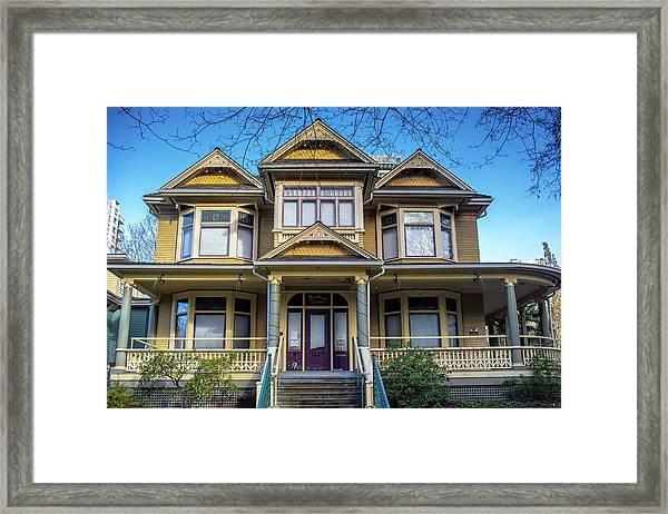 Heritage House Framed Print