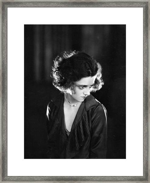 Hermione Baddeley Framed Print by Sasha