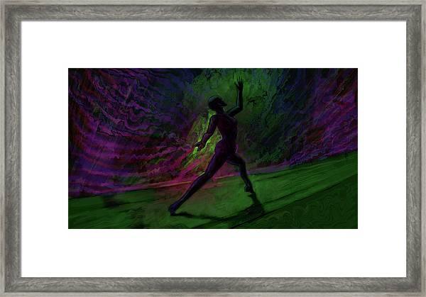 Hidden Dance Framed Print