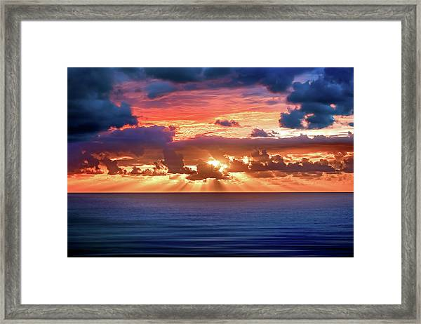 Hidden Spark Framed Print