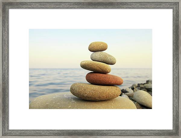 Hierarchy And Balance Framed Print